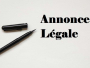 Pourquoi l'annonce légale est-elle obligatoire?