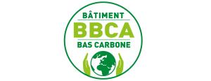 Logo du label BBCA pour les bâtiments bas carbone