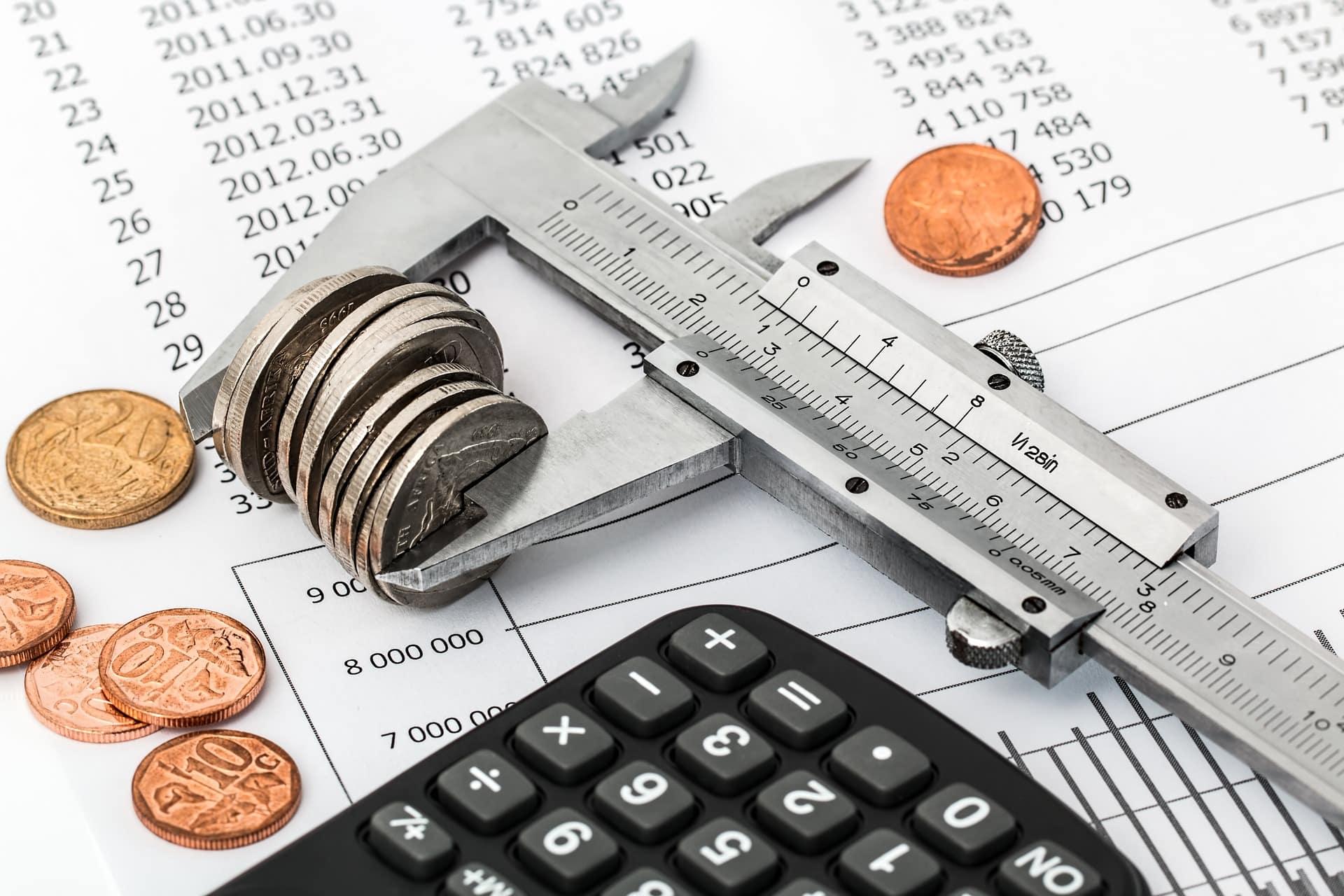 comptabilité et budget avec calculette