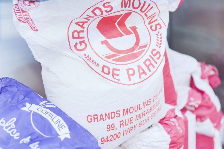 sac de farine Grands moulins de paris